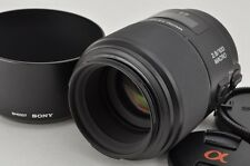 SONY 100mm F2.8 MACRO SAL100M28 AF Lens for Sony Minolta Alpha Mount #161108c