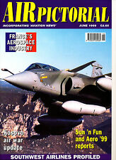 AIR PICTORIAL 1999/06 JUN Crossair,France Aerospace,Atlantique 2,Southwest USA