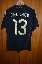 GERMANY 2010 WORLD CUP SIGNED AWAY FOOTBALL SHIRT JERSEY TRIKOT #13 BALLACK