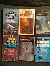 LOT OF 15 VINTAGE SCI FI FANTASY SCIENCE FICTION PAPERBACK BOOKS 1960's-70's