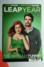 LEAP YEAR AMY ADAMS MATTHEW GOODE COVER MINI POSTER BACKER CARD (NOT a movie )