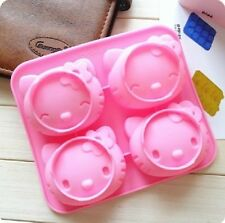 Hello Kitty BIRTHDAY CAKE CANDY MOLD ICE TRAY SET  USA Seller Free Ship