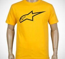 Alpinestars Ageless Classic Tee (XL) Gold Black