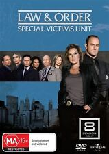 Law And Order - Special Victims Unit : Season 8 (DVD, 2009, 5-Disc Set) **NEW**
