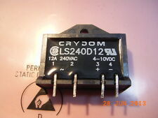 LS240D12 CRYDOM Solid State Relay Out 240VAC 12A In 4-10VDC SIP-4