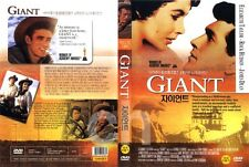Giant (1956) - Elizabeth Taylor, Rock Hudson, James Dean  / DVD)