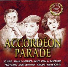 ACCORDEON PARADE  - AIMABLE - ANDRE VERCHUREN - MARCEL AZZOLA - YVETTE HORNER-