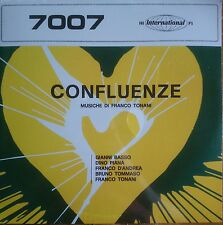 Franco Tonani ‎– Confluenze LP Sonor Music Editions Italian Library Music