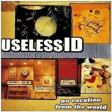 Useless ID No Vacation From The World CD NEW 2003 U.S. Punk Kung Fu