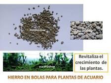 ABONO HIERRO 25gr para ACUARIO bolas para plantado FORTALECE EL CRECIMIENTO