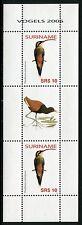 SURINAM 2006 Vögel Birds Uccelli Oiseaux Freimarke 2089 Kleinbogen ** MNH