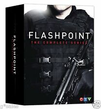 Flashpoint ~ Complete Series ~ Complete Season 1-5 ~ BRAND NEW 19-DISC DVD SET