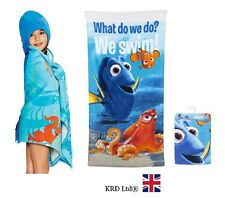 Disney FINDING DORY Kids BATH TOWEL Summer Swimming Beach Childrens Nemo Gift