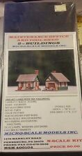 N Scale Micro-Scale Models Inc. Maintence Office And Tool Shed NIB