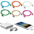 Strong Braided Micro USB Charging Cable Magnetic Charger for Android Samsung LG