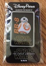 Disney Parks Star Wars The Force Awakens BB-8 Droid Pin Disneyland Celebration!!