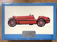 Vintage Sealed Pocher 1/8 Alfa Romeo 8C 2300 Monza K71 Model Car Kit (12-80)