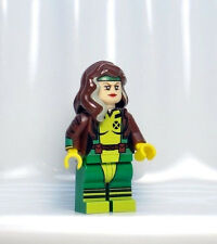 A1247 Lego CUSTOM PRINTED X Men Classic1990 INSPIRED ROGUE MINIFIG Gambit Jean