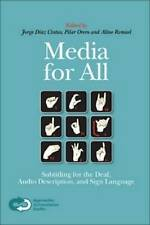 Media for All: Subtitling for the Deaf, Audio Description, and Sign Language (Ap