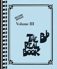 The Real Book Volume III Bb Edition Real Book Fake Book NEW 000240284