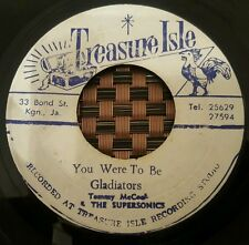 """Gladiators With Tommy McCook You Were To Be Orig JA 7"""" Listen !"""