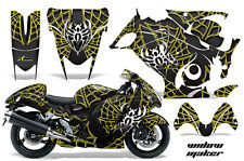 Amr Racing Graphic Kit Suzuki GSXR 1300 Hayabusa GSX Busa Bike Decal Wrap WIDOW