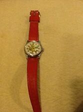 NICE VINTAGE BRADLEY SWISS BIG BIRD SESAME STREET HAND WIND MECHANICAL WATCH