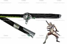 NEWON Game Overwatch Genji Cosplay Sword Metal OW Cosplay Props Weapon 1:1 Scale