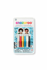 Snazaroo Schminkstifte Set Jungen 1172014 Schminke Make Up Face Painting