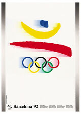 BARCELONA Spain 1992 Summer Olympic Games Official Olympic Museum POSTER Reprint