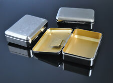 1 x Portable Cigarette Metal Tobacco Box For 70MM Paper storage case Stainless