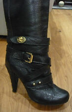 Mulberry Postmans Lock Knee High Boots 39
