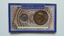 Two Military Campaigns Roman Coins Reproductions Vintage Unopened Package NEW!