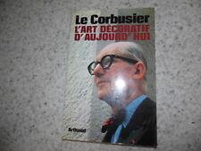 1980.L'art décoratif d'aujourd'hui.Le Corbusier