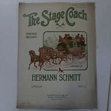 piano solo HERMANN SCHMITT the stage coach