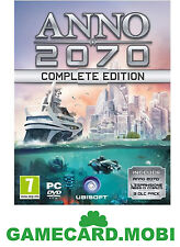 Anno 2070 Complete Edition [PC Game] CD-Key - Anno 2070 Key Uplay Download Code