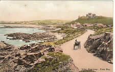 Early View From Horse & Cart, COBO BAY, Guernsey, Channel Islands