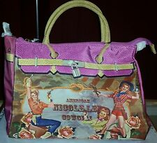 Nicole Lee Polyurethane American Cowgirl Handbag Purse Authentic Nicole Lee