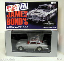 CORGI 50th ANNIVERSARIO 04206 007 James Bond OPERAZIONE TUONO ASTON MARTIN db5 Argento