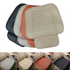 PU Leather Bamboo Car Seat Cover Pad Mat Breathable Chair Cushion for Auto