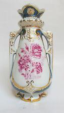 Antigue Royal Dux Bohemia Czech Porcelain Vase