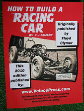 HOW TO BUILD A RACING CAR race car design construct weld track guide book manual