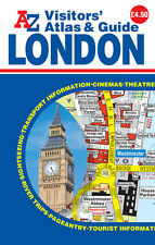 London Visitors Atlas & Guide by A-Z Maps (Paperback, 2016)
