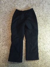Kids LL Bean Insulated Pants Snowboarding Pants Full Zip Size Large 14-16  Kd6