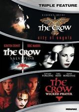The Crow Triple Feature DVD - City of Angels, Salvation and Wicked Prayer