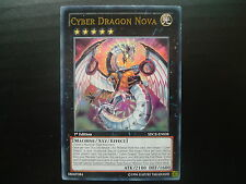 Cyber Dragon Nova * Ultra Rare SDCR * Slight Factory Damage * Yu-gi-oh