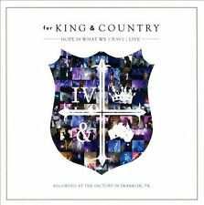 Hope Is What We Crave: Live - For King & Country (CD + DVD, 2013, Curb)