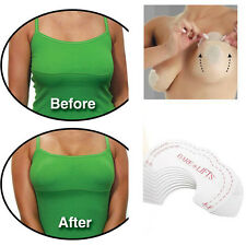 10PCS Push Up Breast Bust Cleavage Shaper Invisible Bra Chest Paste Tape HOT