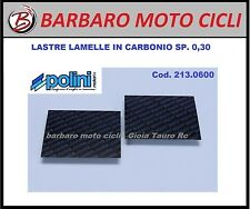 POLINI SET LASTRE IN FIBRA CARBONIO MM.110X110 SP.0,30 MOTO SCOOTER