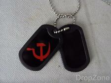 Russian / USSR Hammer & Sickle Dog Tags / Identity Necklace